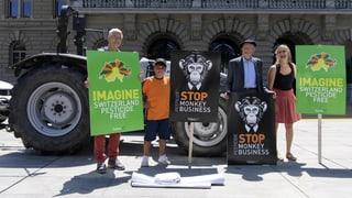 Volksinitiative gegen synthetische Pestizide eingereicht