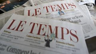 Grünes Licht für «Le Temps»-Übernahme