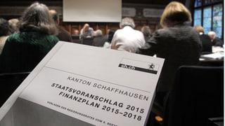 Schaffhausen budgetlos: es geht auch ohne – oder doch nicht?