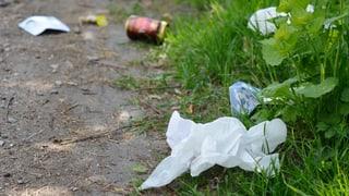 Reinach verstärkt Polizeipatrouillen wegen Abfall-Sündern