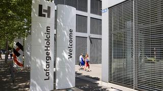 LafargeHolcim schliesst Standorte in Zürich und Paris