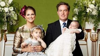 Prinzessin Madeleine: «Wir sind so glücklich und dankbar!»