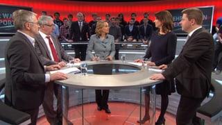 «Arena»: Mehr Schweizer Waffen ins Ausland?