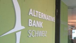 Alternative Bank: Neue Kunden «dank» Negativzinsen