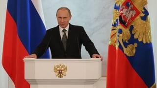 Putin rechtfertigt russische Ukraine-Politik