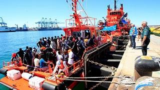 Spanien fordert europäische Migrationslösung