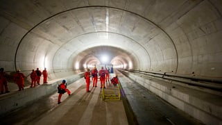 Gotthard Basistunnel: Mangelhafte Entwässerungsrohre bleiben