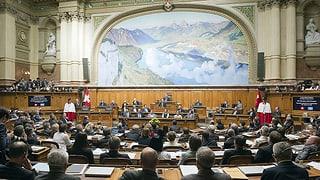 Alterslimite für Parlamentarier?