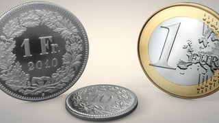 Franken erreicht tiefsten Stand seit Aufhebung des Mindestkurses