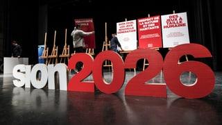 Die ganze Schweiz soll über Sion 2026 abstimmen