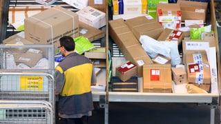 Post verarbeitete vor Weihnachten 18 Millionen Pakete