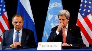Syrien-Konferenz verabredet Fahrplan zur Feuerpause