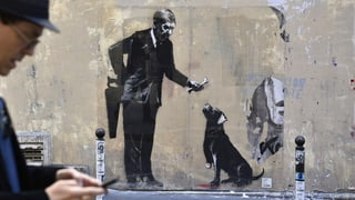 Banksy hat in Paris gewirkt