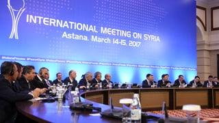 Die Astana-Gespräche laufen schon seit Monaten. Bereits im Mai wurden dort Schutzzonen für Syrien vereinbart.