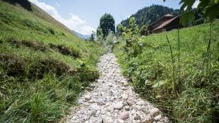 Gemeinden rufen zum Wassersparen auf