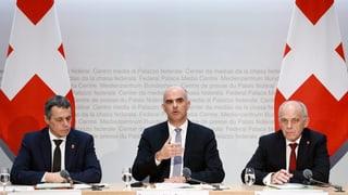 Europas Staaten drängen den Bundesrat zum Handeln