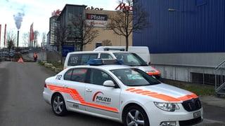 Einkaufszentrum in Pratteln wegen Bombendrohung evakuiert