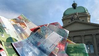 Confederaziun cun surpli d'entradas da 2,8 milliardas francs
