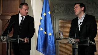 Tusk: «Kommen Sie nicht nach Europa»