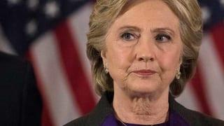 Hillary Clinton hält ihre wohl schwerste Rede