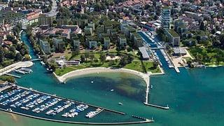 Kritische Stimmen zum geplanten Hochhaus im Hafen von Nidau