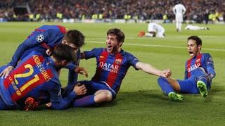 Wahnsinn! Barça sorgt in der Nachspielzeit für das Wunder