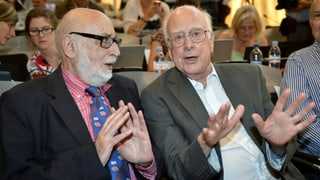 Physik-Nobelpreis für die Väter des Higgs-Boson-Teilchens
