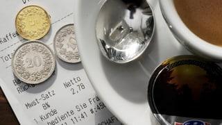 Teurer Café Crème ist oft zu teuer