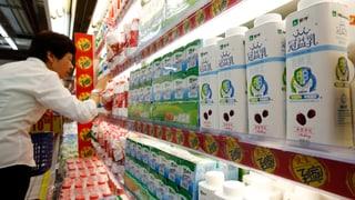 China birgt Hoffnung für die Schweizer Milchbauern