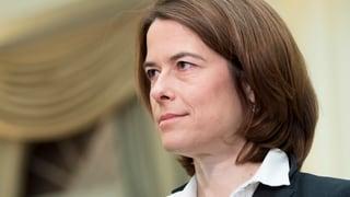 FDP-Präsidentin Gössi schliesst Einerticket aus