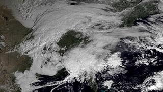 US-Ostküste erwartet Schneesturm