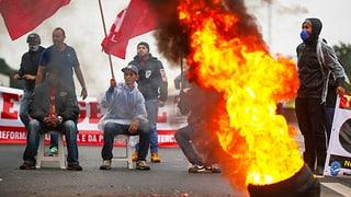 Generalstreik legt Brasilien lahm