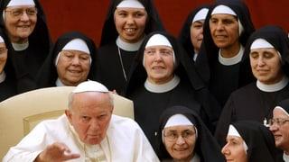 Frauen im Vatikan: unsichtbar, aber zahlreich