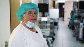 Rosmarie zeigt's den Chirurgen