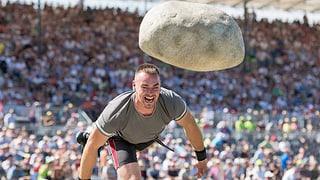 Il crap da Unspunnen è sgulà 3,77 meters
