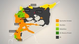 Infografik: Syrien – eine umkämpfte Nation