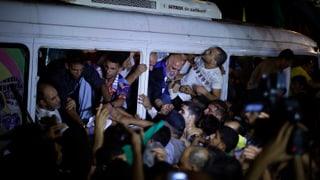 Israel lässt palästinensische Häftlinge frei