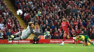Liverpool überrennt Aufsteiger Norwich