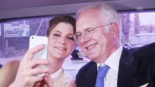 Annina Frey: In der Limo mit Harald Schmidt