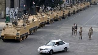 Die USA schränken ihre Hilfen für Ägypten ein