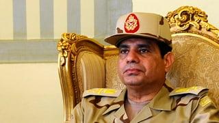 Ägyptens Armeechef will auf den Präsidentensessel