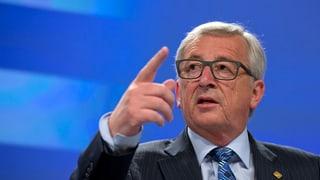 Juncker vul tegnair la Grezia en l'euro