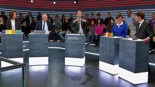 «Abstimmungs-Arena» zur Unternehmenssteuerreform III