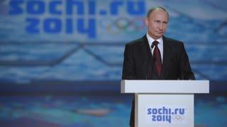 Putin: Proteste bei Olympia gestattet
