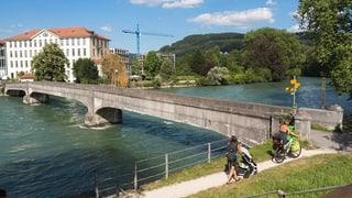 Nicht mehr sicher: Reussbrücke wird sofort gesperrt