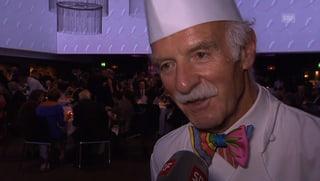 Spitzenkoch Anton Mosimann will für den Papst kochen