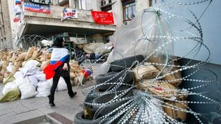 Trotz Genfer Vereinbarung: In der Ukraine flammt neuer Streit auf