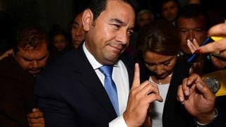 Guatemala: Vom Komiker zum Staatspräsidenten