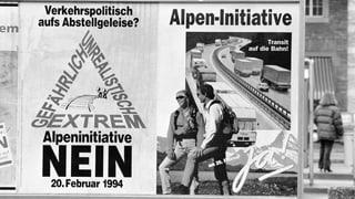 20 Jahre Alpeninitiative: Auf Jubel folgt Ernüchterung