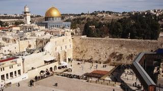 Wem gehört Jerusalem? (Artikel enthält Video)